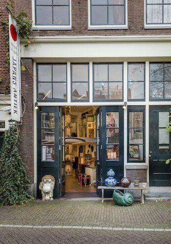 Van hier tot Tokio winkel aan de Prinsengracht in Amsterdam