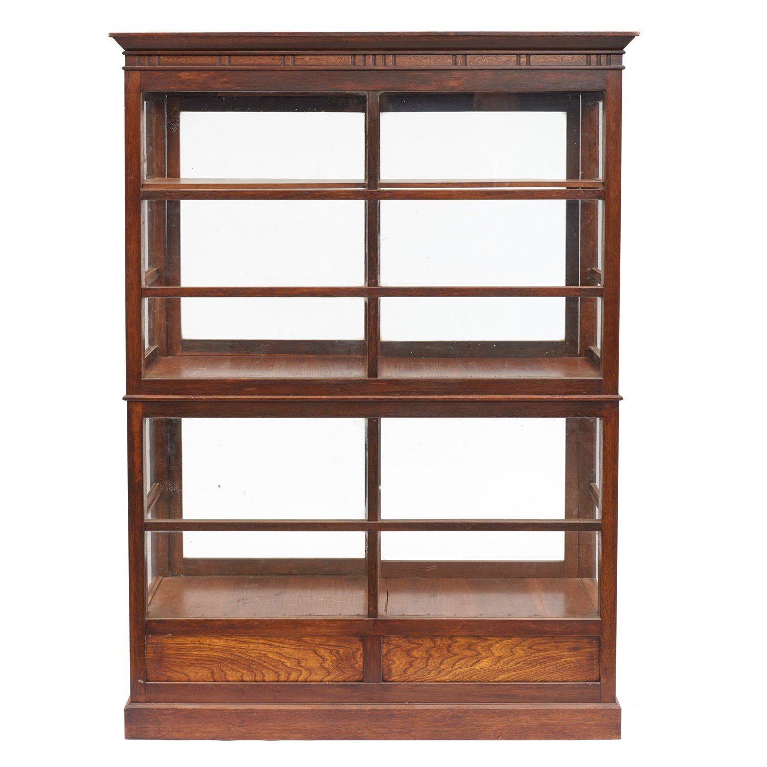 nordic glass oak furniture cabinet roseland display products