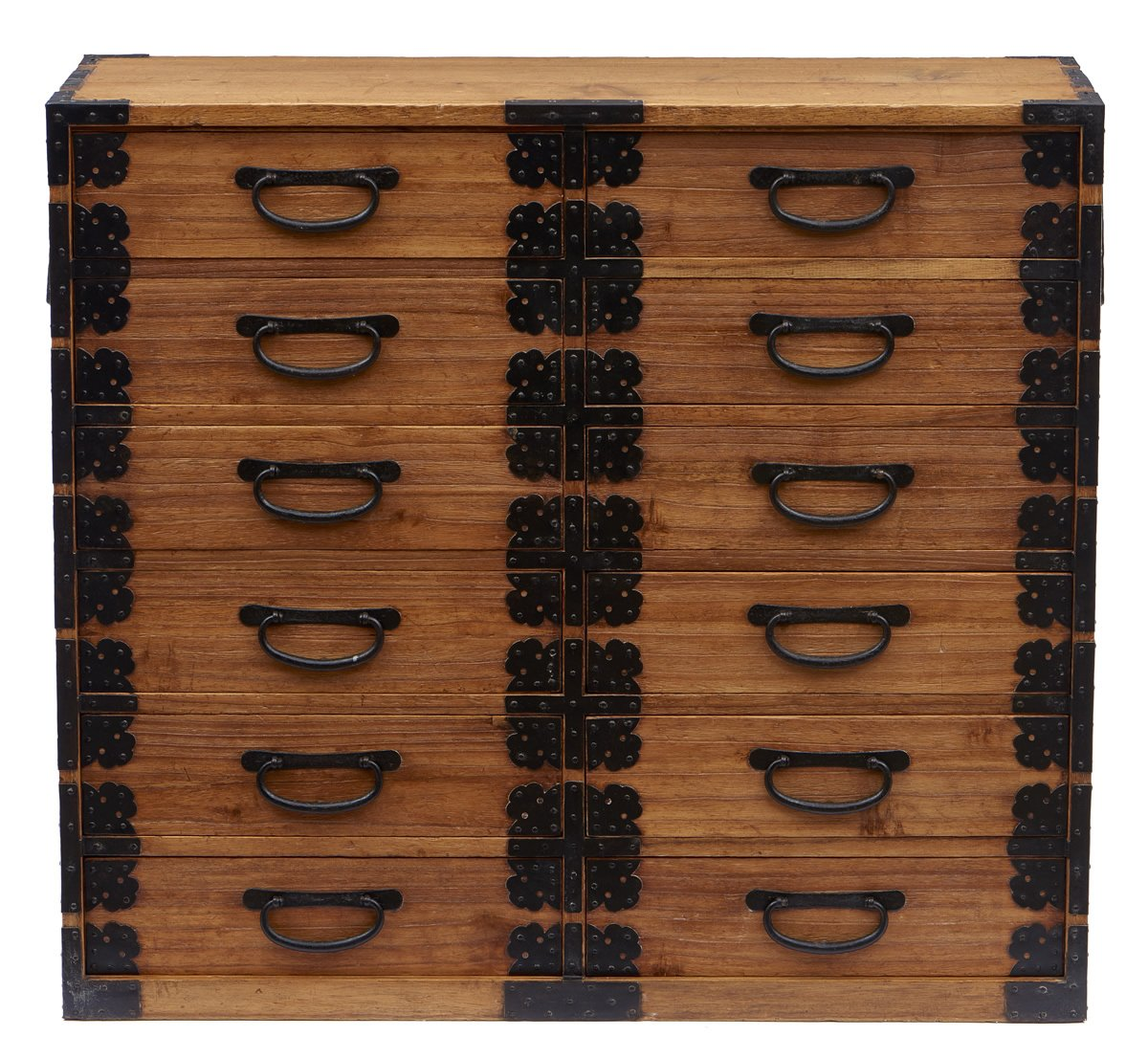 Japanese Dansu With 12 Drawers