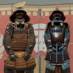 Samurai armor (Yoroi) and artefacts